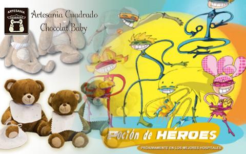 Artesania Cuadrado patrocina proyecto pocion heroes para niños con cancer