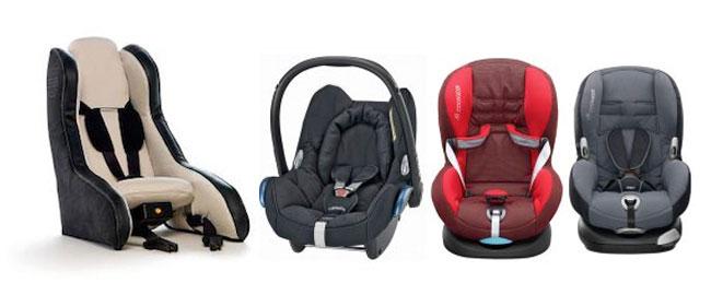sillas para el coche niños