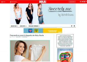 Blog hola.com Astrid Klisans