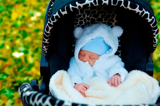 excursiones con el recien nacido