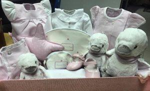 cestas para bebes de chocolat baby
